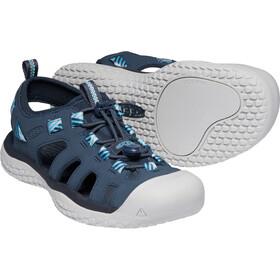 Keen Solr Sandalias Mujer, azul/blanco